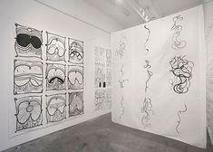 Matt Mullican installation view