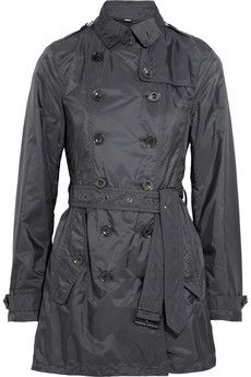 Burberry Brit Shell trench coat | NET-A-PORTER