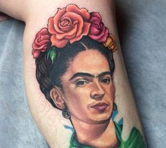 Tattoos Inspired by Frida Kahlo
