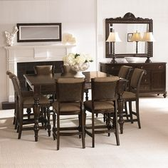 Arlington 9 Piece Counter Height Dining Set From Costco