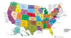USA, a book for every state.