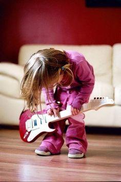 Rock on little sister!