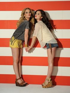 Lucy Hale and Ashley Benson on Their Shopping Wish-Lists and Starring in Bongo's Spring Campaign