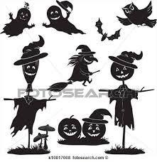 Resultado de imagen para siluetas de brujas para imprimir