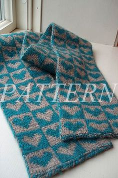 From My Heart Scarf Pattern - Double Knitting Double Knitting Patterns, Knit Patterns, Knit Or Crochet, Crochet Scarves, Scarf Knit, Knitted Heart, How To Purl Knit, Free Knitting, Free Pattern