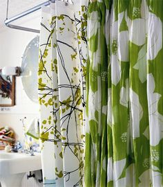 http://www.bebarang.com/unique-long-shower-curtains/ Unique Long Shower Curtains : Contemporary Shower Curtains Ideas