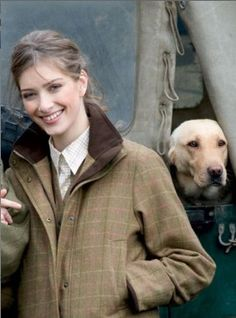 This reminds me...I want a Barbour jacket.