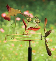 Wind-Powered Kinetic Garden Whirligigs.