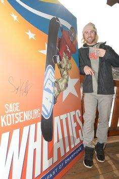 Sage Kotsenburg at the Wheaties Box Unveiling