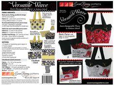 Versatile Wave by Susan Rooney Patterns