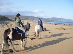 Photo gallery of stunning views on our Coast to Coast horse trail riding holidays and pony treks in Sutherland Scotland Trail Riding, Horse Riding, Scotland Travel, Scotland Trip, North Highlands, Riding Holiday, Us Beaches, Trek, Cruise