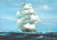 """""""How easy 'tis, when  Destiny proves kind,  With full-spread sails to run before the wind!"""" - John Dryden"""