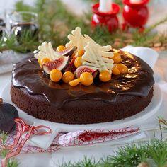 Recept på Glöggkaka med läcker chokladglasyr från - Hemmets Journal