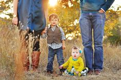 Love these colors for fall family photos