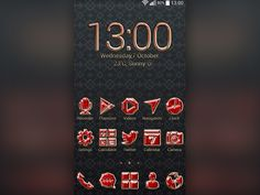 Make your #gadget look precious and unique by customizing it with a beautiful #Ruby theme. If red is your favorite #color you will absolutely love this #theme.