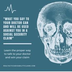Did you know that what you say to your doctor can hurt your Social Security Disability claim? Learn how to fix your medical records before your next visit and increase your chances of winning your disability claim. Chronic Pain, Fibromyalgia, Chronic Illness, Chronic Fatigue, Tramatic Brain Injury, How To Fix Depression, Disability Help, You Drive Me Crazy, Tips