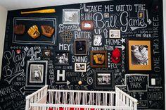 Bar Wall Baseball Nursery   Sweet Little Peanut