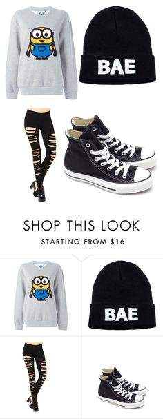 """""""Casual day out"""" by lillilykitty ❤ liked on Polyvore featuring Steve J & Yoni P, Domo Beads and Converse"""