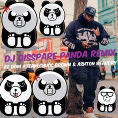 Panda, Mickey Mouse, Disney Characters, Fictional Characters, Dj, Brown, Michey Mouse, Panda Bear, Pandas