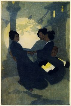 Bertha Boynton Lum - Fox omen, 1908