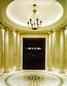 Entry Foyer with Dome