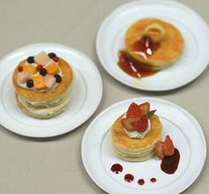 Pancakes made by students.