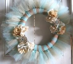 HandCrafted Jewel Wreath by thefunsister on Etsy, $19.00