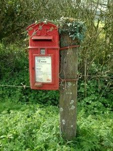 Unusual post box - do you know why?