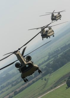 Taken on Aug. 21, 2015, the following beautiful pictures show brand new CH-47F Chinook helicopters from Hotel Company 1-214 Aviation Regiment, 12th Combat Aviation Brigade (CAB), taking off after refueling at a local German airport and flying in a convoy formation enroute to Bremerhaven port.Image Credit: Sgt. Thomas Mort / U.S. Army