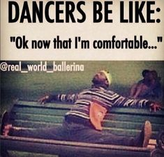 #dancerproblems: