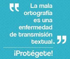 #Ortografía