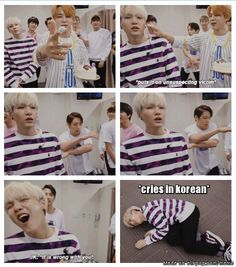 Suga the Drama Queen | allkpop Meme Center