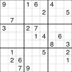 You'll have a funtastic time with our great selection of free printable puzzles and online puzzles and games: Sudoku, Word Search, The Daily Crossword, Mahjongg Dimensions and many more. Free Printable Puzzles, Sudoku Puzzles, Education, Teaching, Onderwijs, Learning