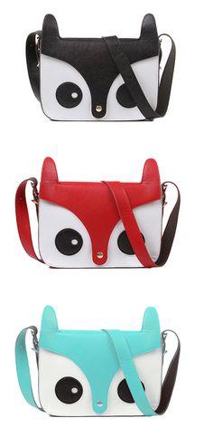 $16.12Sweet Style Women's Crossbody Bag With Cute Little Fox Pattern Design-Too cute!