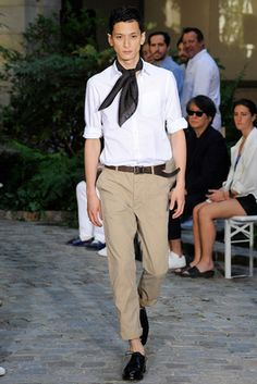 Officine Generale Spring 2016 Menswear Fashion Show: Complete Collection - Style.com