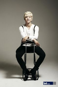 Bang Yongguk (B.A.P). A gravure for an interview with BNT News.