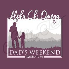 Alpha Chi Omega | Alpha Chi | AXO | Dad's Weekend | Parent's Weekend | Silver…