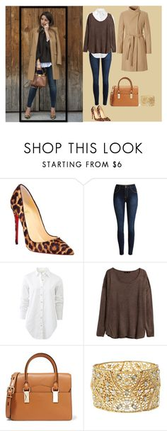 """""""Untitled #48"""" by sali-sali ❤ liked on Polyvore featuring Christian Louboutin, rag & bone, H&M, Karl Lagerfeld and Charlotte Russe"""