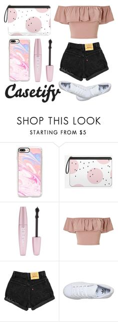 """""""#424"""" by mimi-666 ❤ liked on Polyvore featuring Casetify, Forever 21, Miss Selfridge and adidas"""