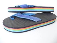 70's Flip Flops     so comfy...wish you could still buy these!