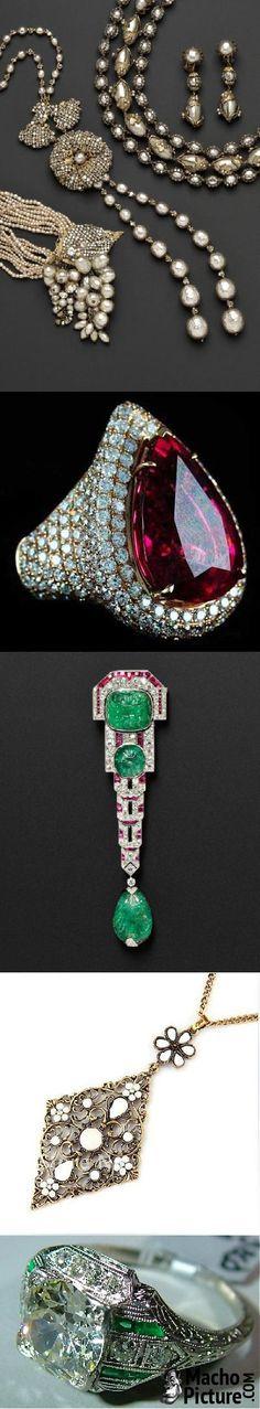 Vintage fine jewelry - 6 PHOTO!