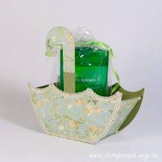 Упаковочная коробочка-зонтик - Скрап-форум