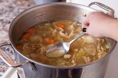 How to Make Turkey Soup from a Leftover Carcass | eHow