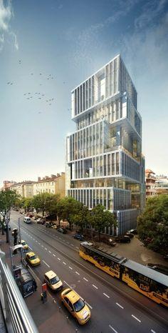 En Construcción: Edificio en Sofia / Aedes Studio
