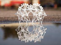 3D geprinte strandbeesten van Theo Jansen