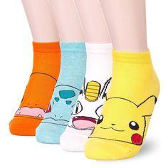 Womens Famous Cartoon Japanese Animation Print Cotton Blend Crew Socks at Amazon Women's Clothing store: