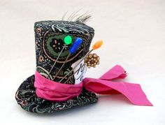 Tiny Top Hat Classic Mad Hatter  The Mad Hatter by littlecasaroo, $30.00