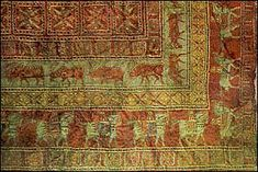 """I'm sure we've all heard of """"Persian Rugs"""". Cyrus the Great was known to have introduced carpet making in Persia. Carpets were a sign on wealth. Some believe they were used in the tomb of Cyrus.  http://www.iranchamber.com/art/articles/brief_history_persian_carpet.php"""