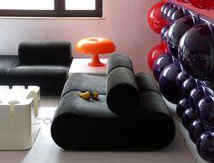 Arredamento postmoderno ~ Artemide studio lampade mobili oggetti per arredamento pubblicità