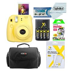 Fujifilm Instax Mini 8 Instant Film Camera Grape With Fujifilm Instax Mini Instant Film Twin Pack 20 Sheets Compact Bag Case Batteries Battery Charger -- Find out more about the great product at the image link. Instax Mini 8 Camera, Fujifilm Instax Mini 8, Film Photography Tips, Photography Supplies, Instant Film Camera, Mint, Camera Case, Photo Booth, Printer
